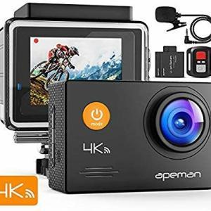 アクションカメラ(APEMAN A79)を買いました。 レビュー、お待ちください!