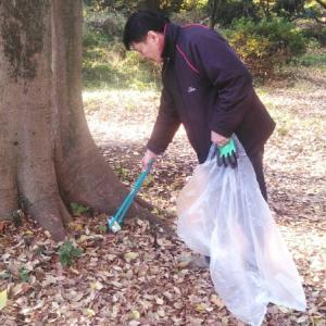 杉並区・練馬区にて公園のゴミ拾いボランティア活動に参加しました