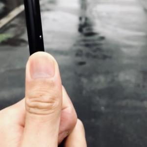 札幌は朝から雨