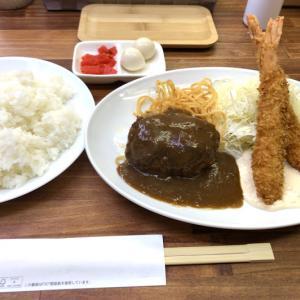 神戸グルメ | ハンバーグ&エビフライ「洋食のエース」三宮センタープラザ西館地下1F
