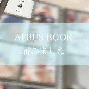 ましかくプリントですっきり見やすい☆アルバスブック届いたよ♪ALBUS
