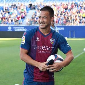 サッカーな週末、岡崎慎司選手を見に!注目はスペイン人の応援??