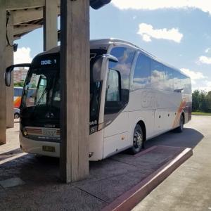 【ウルグアイ】国内の交通手段~長距離バス『COT BUS』に乗ったレポート