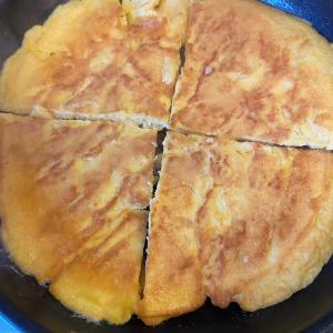 【奥薗流】ジャガイモのチーズオムレツ作りました
