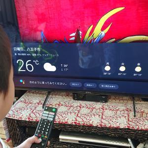 テレビ買うならソニーブラビア!49型サイズを選んだ我が家アプリは使いこなすこと出来る?