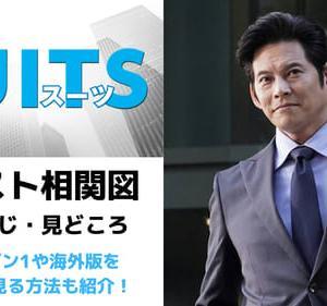 【SUITS2】ドラマキャストや相関図は?あらすじや海外版を無料で見る方法!(織田裕二主演)