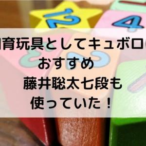 知育玩具としてキュボロはおすすめ 藤井聡太七段も使っていた!