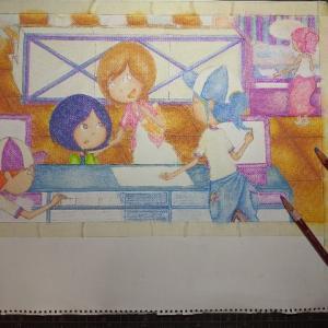 絵本制作過程1