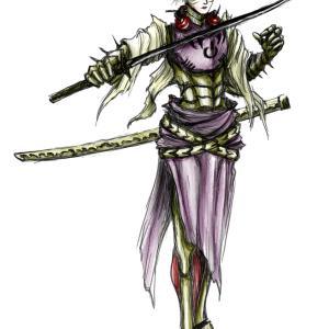 山田唄さんのキャラクターを描かせていただきました