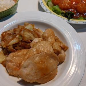コストコ購入 鶏むね肉のオイマヨ炒め〜時短簡単節約晩ごはん