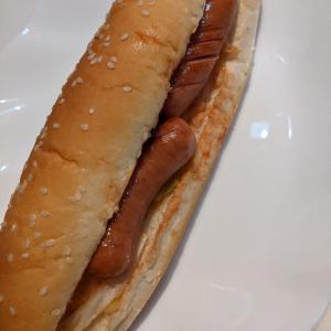 コストコ購入 ホットドックパンで ホットドック