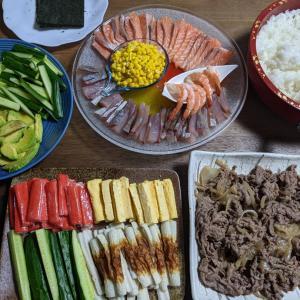 子どもの日 手巻き寿司〜時短簡単節約晩ごはん