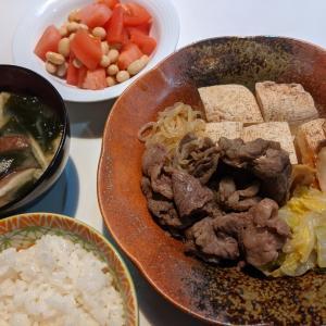 作りたくない日の手抜き晩ごはん 〜肉豆腐