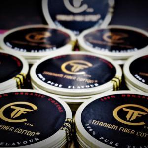 ★Titanium Fiber Cotton 期間限定 缶パッケージ版 販売告知★