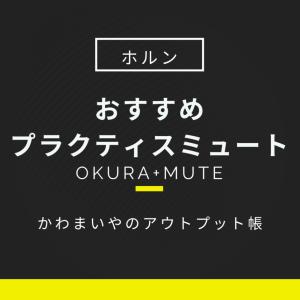【ホルン】おすすめプラクティスミュート【okura+mute】