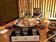 姫路城見学の後は福亭で食事!