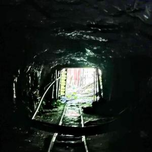 K日鉱山 M鉱区第一 下の坑道
