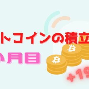 【8か月目】毎日ワンコイン!ビットコインの積立投資をしてみた結果
