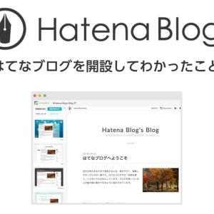 【祝】まじめに『はてなブログ』に取り組みだして1年がたちました、そして結果は?
