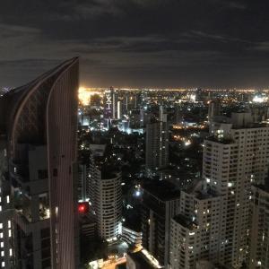 バンコク マリオットからの夜景