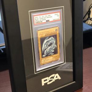PSAオリジナル 鑑定済みカード用フレームを買いました