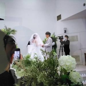 リモートで結婚式に参加