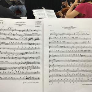 一年半ぶりのオーケストラ合奏