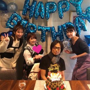 保田と矢口と辻がつんく♂の誕生日を祝ったんです!!!