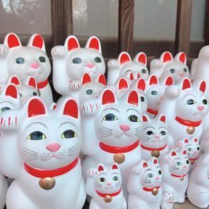 可愛い招き猫がいっぱいの豪徳寺へ
