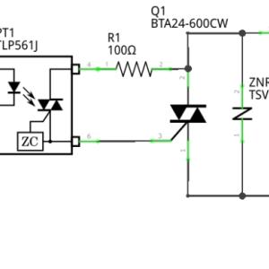 ソリッドステートリレーの回路