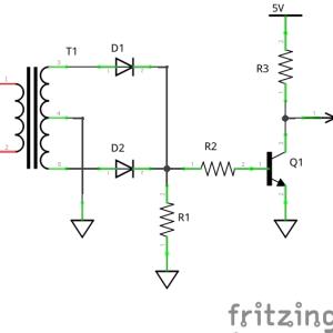 SSRで電力調整をやってみた (回路図)