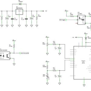 ヒーター温度のPID制御 – 回路図
