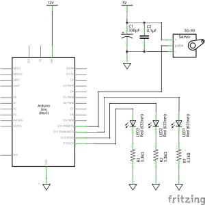 Arduino のマルチタスク (5) サーボと Lチカを独立して動かす