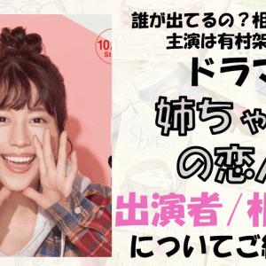 【姉ちゃんの恋人】の出演者/キャストは?相関図や主題歌等を徹底調査!