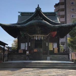 初詣・御朱印巡り【熊本市内】(2021.2.20)