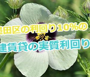 墨田区の利回り10%の戸建賃貸の実質利回りを計算!所有不動産会社の情報も掲載!
