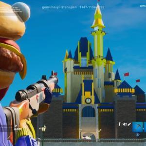 【フォートナイト】ディズニーランドの世界が再現!クリエイティブで夢の国へ行こう!【島コード】
