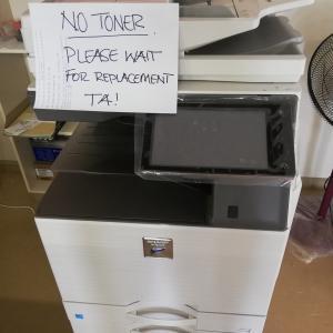 本校のコピー機