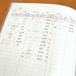 手書きの家計簿で支出を把握する