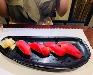 アメリカ娘のお寿司の食べ方