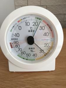 ありがたき温湿度計