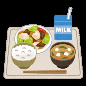 病院のお食事(片耳日記)