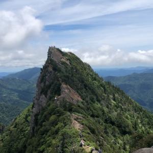 石鎚山登山(7月のお話)