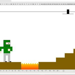 Stage3: エクセルでパラパラ漫画?(タブ移動)