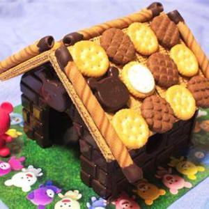 子どもの夢、お菓子の家♪♪