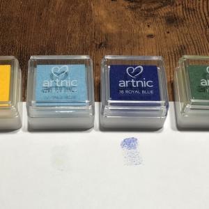 結婚証明書は、ウエディングスマイルにしました② インクの色編