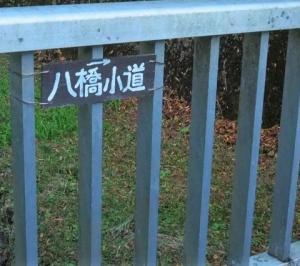 Goto 第二段 紅葉を求めて その10 八橋を渡る
