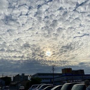 初めて見た 空の現象