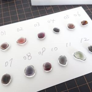 パーツ制作用に色見本を作ってみました。