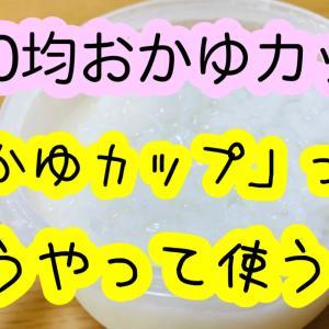 【離乳食】おかゆ!100均グッズでの作り方【使い方】